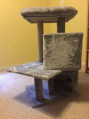 ZENY Plush Cat Tree Tower Perch Condo Pet House Scratching Post Activity Play for Sale in Palm Bay, FL