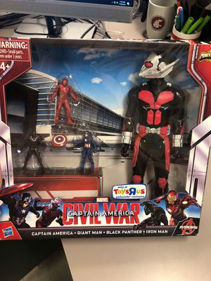 Captain america civil war action figure for Sale in Sumner, WA