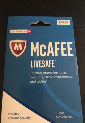 McAfee Live Safe for Sale in Denver, CO