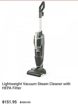 Vacuum with steam cleaner for Sale in Pomona,  CA