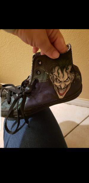 Joker converse sneakers for Sale in Poinciana, FL