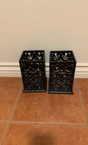 Candle Holders/ Utensils Basket for Sale in Arcadia, CA