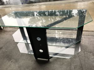 Glass TV Stand for Sale in Escondido, CA