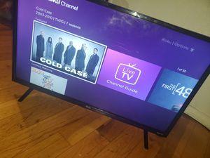 32 in tlc smart roku tv for Sale in Kansas City, MO