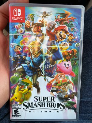 Super Smash Bros Ultimate for Nintendo Switch for Sale in San Francisco, CA