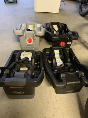 Graco car seat bases for Sale in Hampton, VA