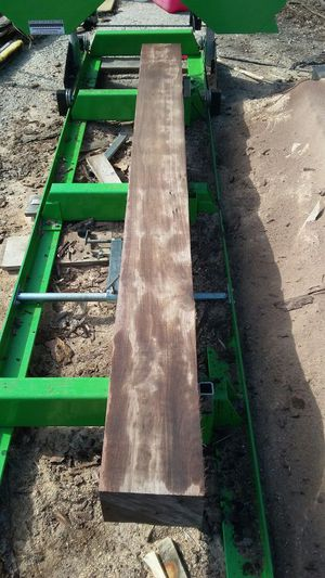 Black Walnut Beam Mantel for Sale in Caledonia, OH