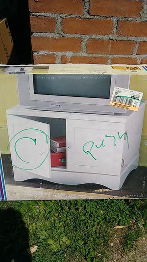 Tv stand white for Sale in Alexandria, VA