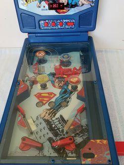 "SUPERMAN ""SAVING THE WORLD"" PINBALL MACHINE for Sale in Alexandria,  VA"
