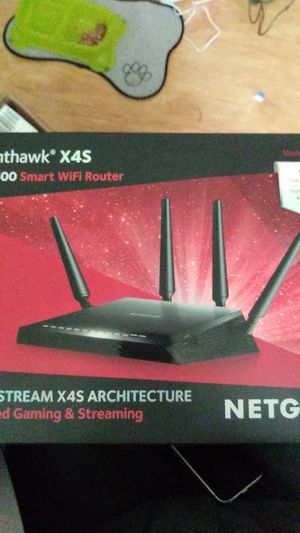 Net gear Nighthawk X4s AC2600 SMART Wi-Fi router for Sale in Concord, CA