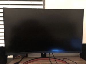 2k 144hz Curved 31.5 in monitor for Sale in Lubbock, TX
