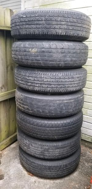 Gooseneck trailer tires for Sale in Tomball, TX