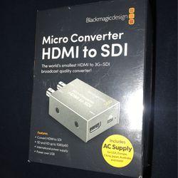 BlackMagicDesign (HDMI to SDI) Converter for Sale in Carson,  CA