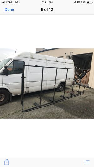 Heavy duty ladder rack for sprinter vans for Sale in Auburn, WA