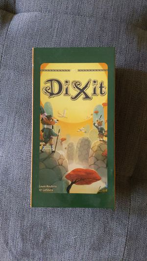 Dixit board game with all the expansion packs for Sale in Richmond, TX