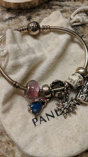 Disney Parks Pandora Bracelet and 6 Charms for Sale in Orlando, FL