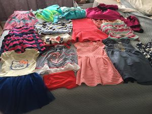 Size 5 beautiful clothes for little girl for Sale in Huntington Beach, CA