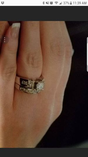 Wedding engagement diamond ring- Small band sold for Sale in Dyer, IN