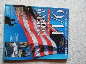 9/11 1 year later commemorative magazine for Sale in Montebello, CA