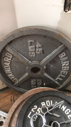 45lb plate for Sale in Maywood, IL