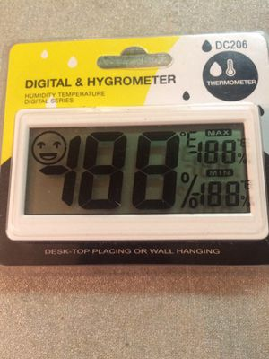 Digital and Hygrometer Thermometer-Brand New for Sale in Lexington, KY