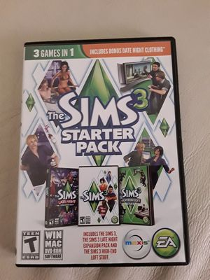 The Sims 3 & Starter Pack For PC for Sale in Nashville, TN