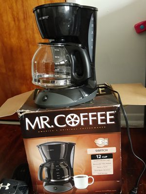 Coffee maker good condition used couple times for Sale in Paterson, NJ