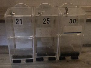 Acrylic Lottery ticket display holders for Sale in Billerica, MA