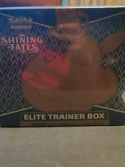 Pokemon Cards Shining Fates Elite Trainer Box, Tins And pikachu V Box for Sale in Tampa,  FL