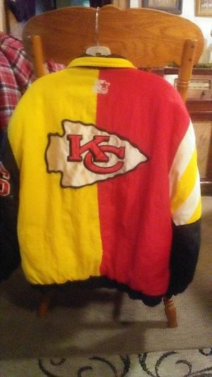 KC Chiefs NFL Stadium Jacket Small for Sale in Oroville, CA