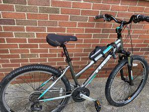 Trek bike new seat cushion, bike lock, and small bike holder for Sale in Wayne, MI