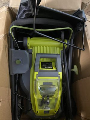 Sun joe lawn mower brand new in the box for Sale in Las Vegas, NV
