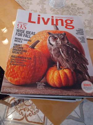 Martha Stewart Magazines - Living-30 Issues for Sale in Hudson, FL