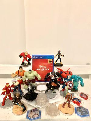 Disney infinity marvel super hero's bundle black suit spider man, venom, nova, captain America, hulk, thor, iron man, black widow, for Sale in Norwalk, CA