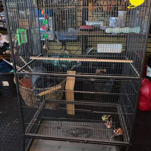 Large Bird Cage and Playstand for Sale in Fort Lauderdale, FL