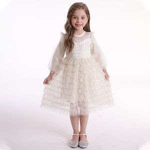 Flower Girl Lace Dress for Kids Wedding Bridesmaid Pageant Party Prom Formal Ball Gown Princess Puffy Tulle Dresses for Sale in Brooklyn, NY