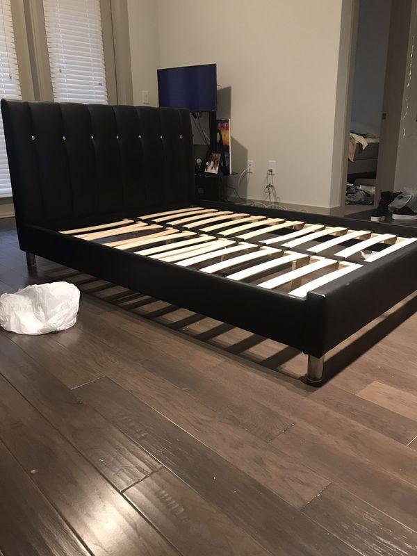Full size platform bed frame
