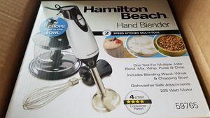 Immersion Hand Blender Hamilton Beach 3 piece for Sale in Bridgeville, PA