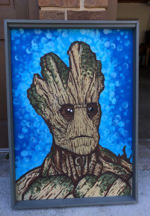 Groot Original Artwork by Aaron Davis Huge! for Sale in Apison, TN