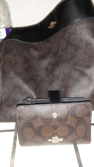 Near new coach purse and wallet large for Sale in Westminster, CO