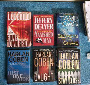 Lee Child, Jeffrey Deaver, Tami Hoag, Harlan Coben Novels for Sale in Newburgh, IN
