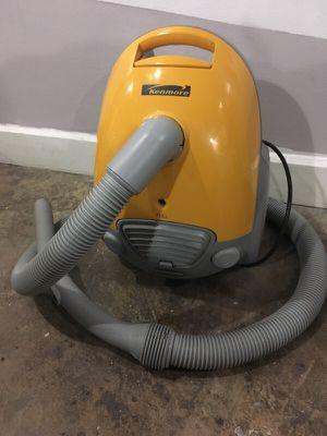 Yellow kenmore vacuum for Sale in Salt Lake City, UT