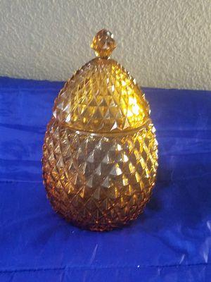 Pineapple Glass Dish/ Storage/ Decor for Sale in Fontana, CA