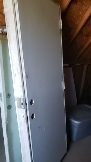 Steel plated garage side door 32x80 for Sale in Fresno, CA