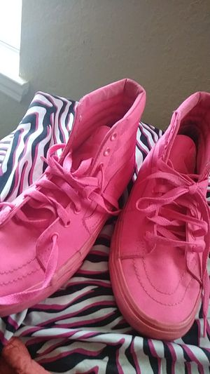 """Pink vans"""" size 8.5 $30 for Sale in Tampa, FL"""