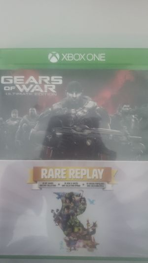 Gear Of War Ultimate Edition And Rare Replay Xbox One Games for Sale in Sterling, VA
