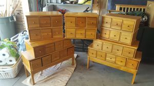 CD Cabinets Solid Oak for Sale in Bingham Farms, MI