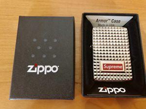 Supreme Zippo lighter. New. for Sale in Pomona, CA