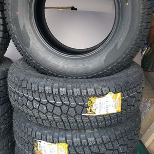 4 NEW CORSA ALL TERRAIN LT275 70 18 E LOAD 10 PLY TIRES for Sale in Somerset, MA