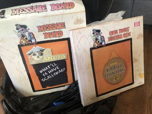 Pirate themed message board and sign bundle for Sale in San Leandro, CA